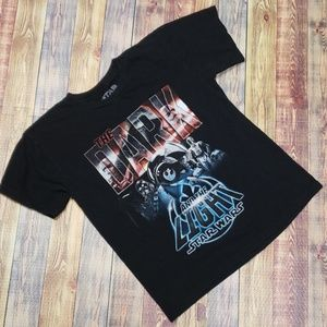 STAR WARS DARK AND THE LIGHT TEE MENS SMALL